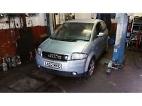 AUDI A2 1.4 TDI BREAKING FOR SECOND HAND CAR PARTS