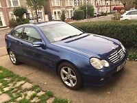 Mercedes-Benz C CLASS SPORTS COUPE***HPI CLEAR-LONG MOT***IMMACULATE- EXCELLENT DRIVE