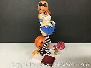 Anime Naughty resin statue 10 inches tall