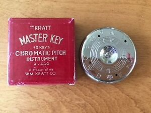 Chromatic Pitch Instrument (to get started in tune!)