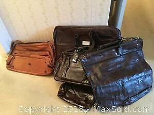 Leather Luggage A