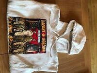 Supreme The War Report Hooded Sweatshirt CAPONE-N-NOREAGA Size M