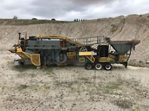 Cedarapids 766 Master Commander Jaw/Roll Crusher for Sale