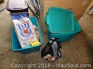 Electrical Tarp Chain Tote And More B