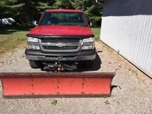 Plow and truck for sale