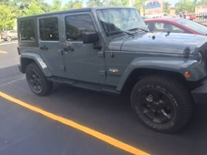2015 Jeep Wrangler Sahara Unlimited Convertible