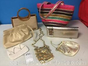 Purses Galore for Parties, Shopping, Dancing, Cruises