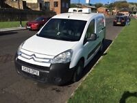 Citroen Berlingo LWB 1.6 Diesel Fridge unit van, FULL MOT, Cash Safe fitted, Ready to work + VAT ,