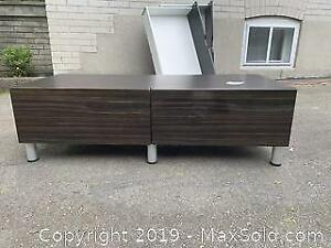 Bench with drawers. B Pickup