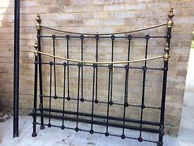 Wrought Iron bed king size bed frame