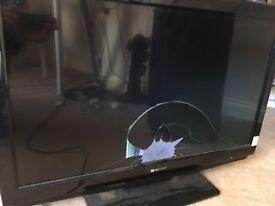 "Sharp AQUOS 32"" LCD (faulty screen)"