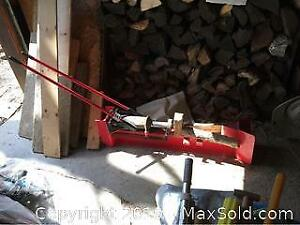 Manual Log Splitter A