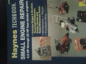 SMALL ENGINE TECHBOOK SHOP MANUALS $40 TAKES BOTH