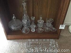 Crystal And Glass Ware A