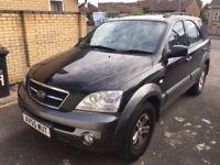 For Sale - Kia Sorento CRDi XS Metallic Black (2006) - £4000.