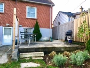 1 Bedroom Lower Apt. with Patio & Parking on Emery St. London Ontario image 2