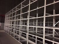 JOBLOT 5 bays of LINK industrial shelving 3m high AS NEW ( storage , pallet racking )