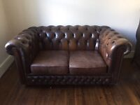 Vintage 2 Seater Chesterfield Sofa