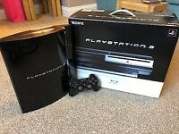 Playstation 3 plus games and controller