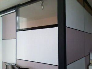 Moving sale: Office divider panels