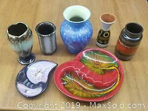Large Collection of Mid Century Pottery