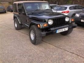 1998 wrangler jeep limited edition sahara 4.0 petrol