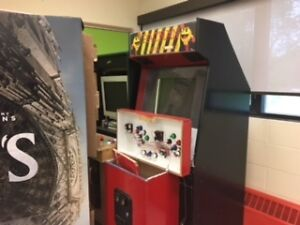Arcade Cabinet with monitor and parts ... as is.