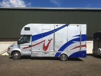 2000 Iveco Ford 5.2 Tonne horse lorry