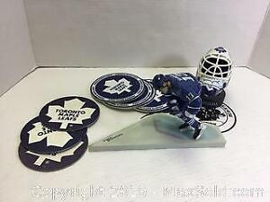 McFarlane Mats Sundin Figure And Leafs Lot