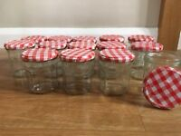 14 Bonne Maman Jars ideal for Home Made Christmas gifts