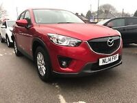 MAZDA CX-5 2.2 D SE-L 5dr (150) * Great Value Diesel MPV * (red) 2014
