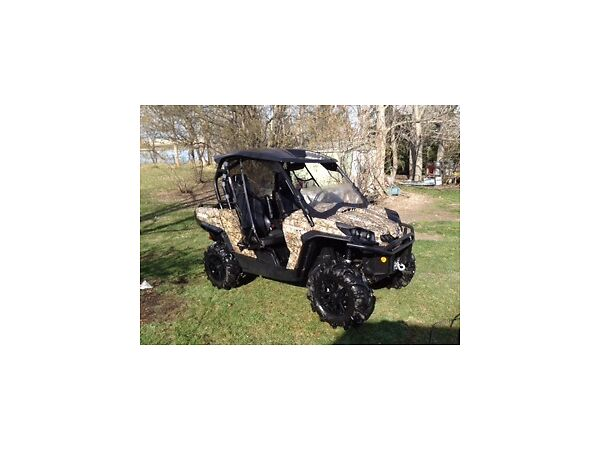 Used 2012 Can-Am 1000 Commander XT (side x side)