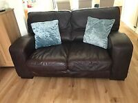 Sofa - leather 4 + 3 seater