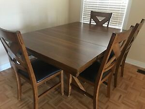 Dining set - solid wood