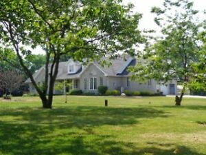 15 ACRE HOBBY FARM  WITH 2500 SQ FT BRICK RANCH