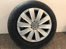 VW Transporter T6 Wheels, Tyres & Hub Caps