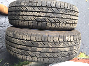 Two-215/65/16 Tires $100
