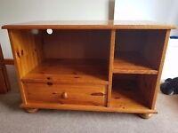 Small Wooden TV Unit
