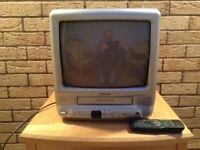 """Tatung Combination 14"""" TV and Video Recorder"""
