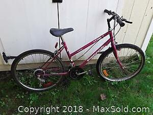 "Pink 18"" Ladies Bike B"