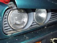 BMW E30 ESTATE touring 316 320 318 FRONT HEADLIGHT - Bosch