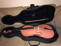 Cello 3/4 size with bow and case - Immaculate condition