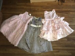 GIRLS DRESSES SIZE 6X  $10 EACH OR ALL 3 FOR $25