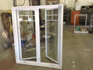 Thermo window white PVC