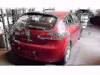 Genuine 2004-2009 seat leon rear bumper (burgundy)