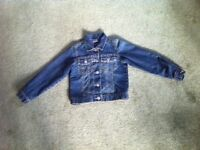 Next girl's denim jacket age 7-8