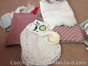Linens, Trivets And More A