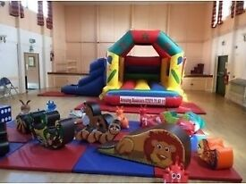 Children's bouncy castle with Soft Play
