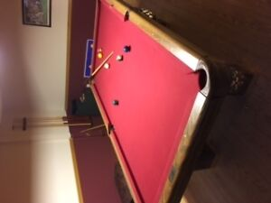 table de billard/pool table