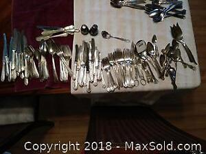 Plated Silverware A